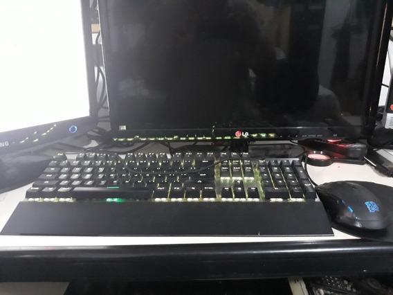 Kit Teclado E Mouse Devastator 3 Gamer-led