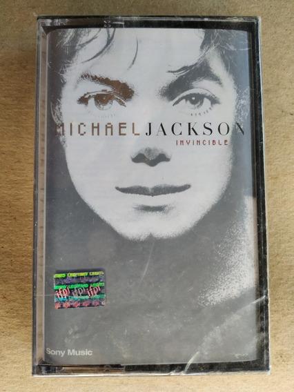 Michael Jackson Invincible Casete Nuevo Sellado Duncant