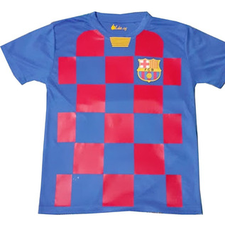 Camiseta De Fútbol Niño Barcelona Se Personaliza A Tu Gusto