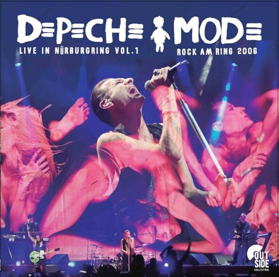 Vinilo Depeche Mode Live In Nurburgring Vol 1 Lp Nuevo