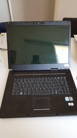 Notebook Itautec Infoway W7650 Defeito