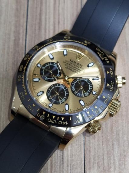 Relógio Rolex Daytona Aro Cerâmica Borracha