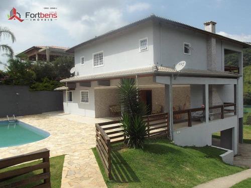 Chácara Com 4 Dormitórios À Venda, 1750 M² Por R$ 750.000,00 - Laranjeiras - Caieiras/sp - Ch0031