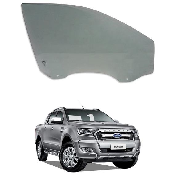 Vidro Porta Dianteiro Direito Ford Ranger 2017 Thermoglass