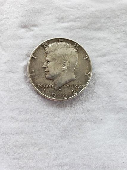 Moneda De 1968 Half Dollar