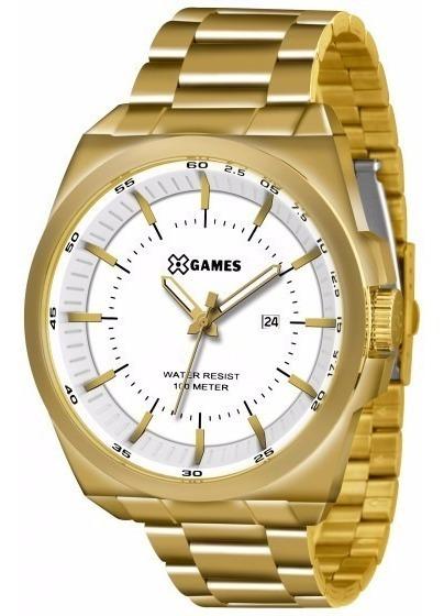 Relógio X-games Masculino Analogico Xmgs1013 B1kx Dourado Of