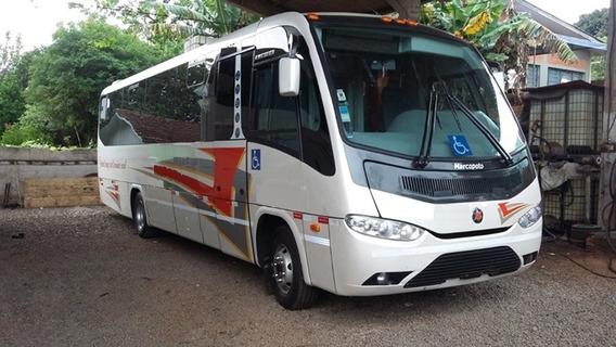 Micro Sênior Volks Bus Mwm Único Dono Seminovo Wc Turismo