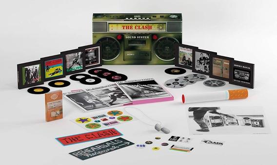 The Clash Soundsystem Box Set 12 Cds 1 Dvd Usado