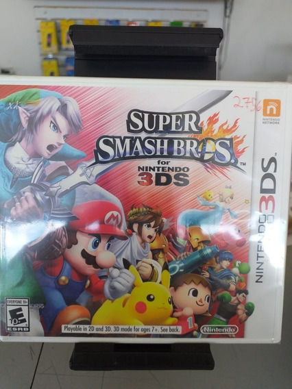 Jogo Nintendo 3ds Super Smash Bros