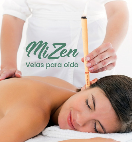 Velas De Oido Mizen® 2 Pares Formula Original 100% Natural