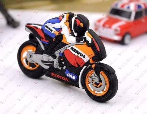 Pen Drive Motocicleta 32gb Moto Honda Usb - Black Friday