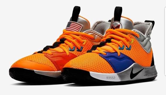 Nike Pg 3 Nasa (3800) Paul George Originales