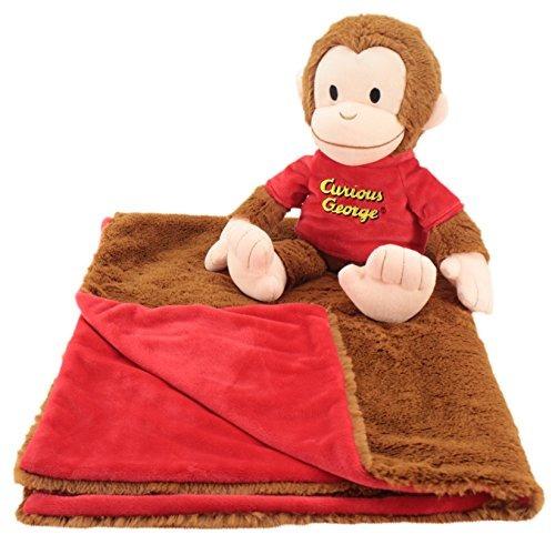 Cuddle Bundles Curious George Super Suave Maquina Lavable Ma