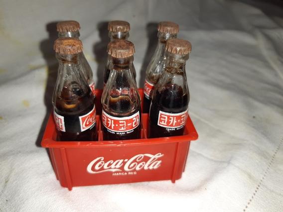 Mini Botellas Coca Cola