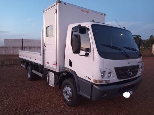 Imagem 1 de 8 de Mercedes Acelo 1016 Com Cabine Suplementar 2016 R$ 220.000.