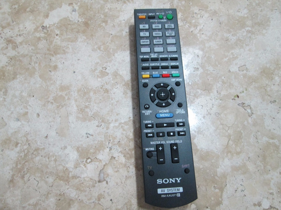 Controle Remoto Receiver Sony Mod. Rm- Aau071