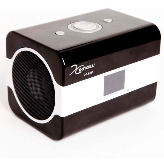 Caixa Acústica Dotcell Dc-s025 C/ Entrada Usb E Slot P/ Cart