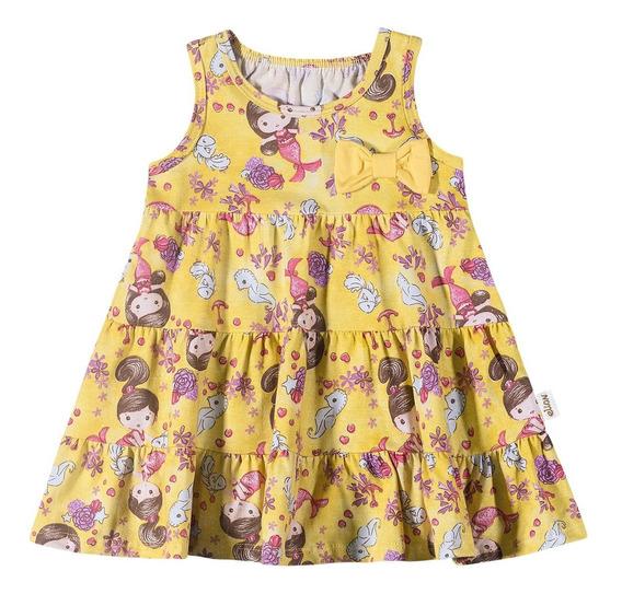 Vestido Infantil Elian Sereia