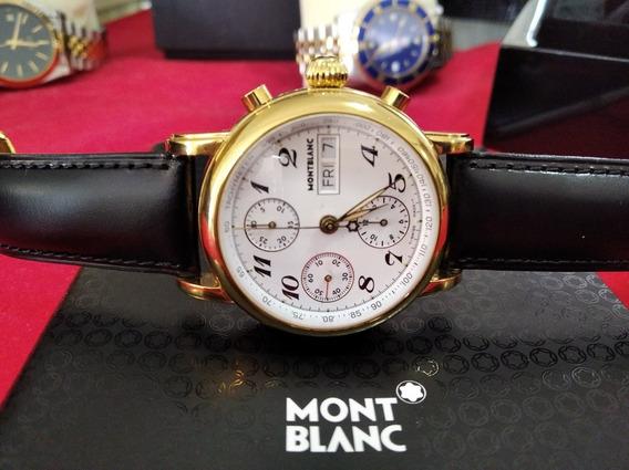 Relógio Mont Blanc Meisterstuck Star Em Estado De Zero