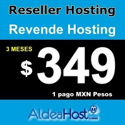 Hosting Reseller 3 Meses 5 Gb Ssd Whm * Cpanel * 99%online