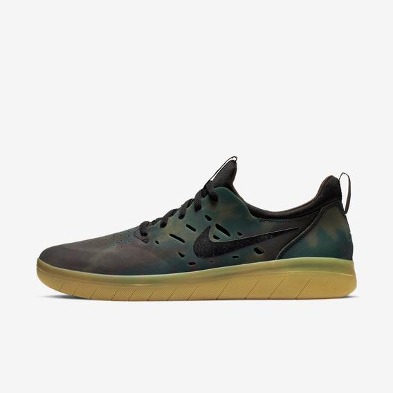 Zapatilla Nike Sb Nyjah Free Premium Camo