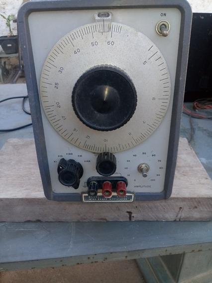 Oscilador De Faixa Larga Da Hp Modelo 200 - Cd