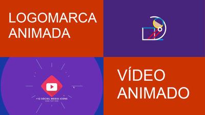 Vídeo Animado Ou Logomarca Animada 100% Exclusivo