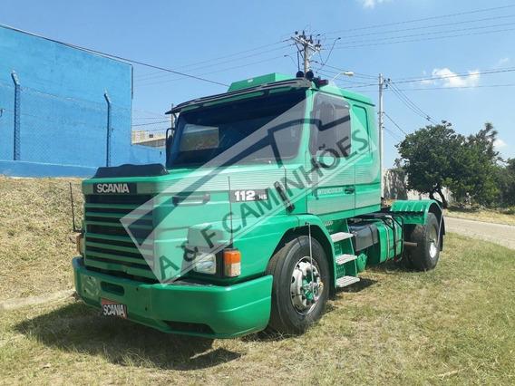 Scania 112 320 Hs 1987 4x2 Motor Novo