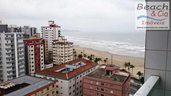 Vista-mar, 2 Dorms, Ocian, Praia Grande, R$ 230 Mil, Ap00687 - Vap00687