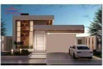 Imagem 1 de 2 de Casa Com 3 Dormitórios À Venda, 145 M² Por R$ 890.000,00 - Condomínio Buona Vita Gold - Atibaia/sp - Ca4191