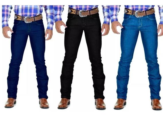 Kit 10 Calça Jeans Masculina Country Lycra Rodeio Avant