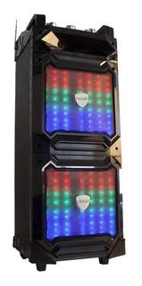 Parlante Torre Bluetooth Noga 100w Usb Karaoke Cyber Monday