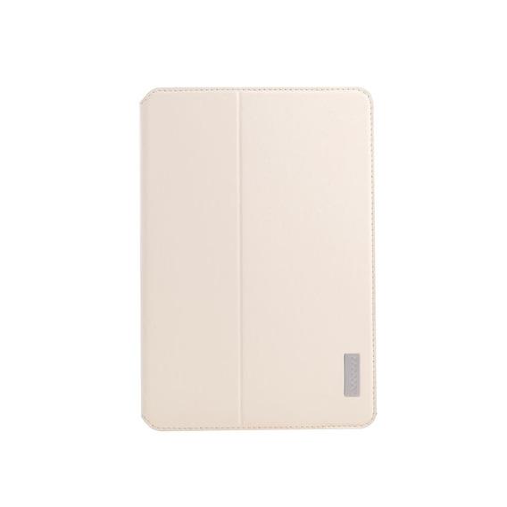 Pu Couro Pu Para iPad Mini Beige