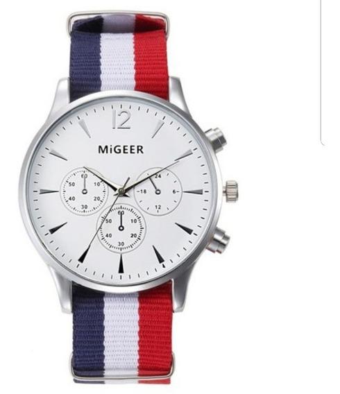 Relógio Unissex Quartz Migeer