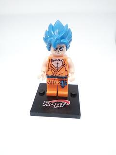 Figuras Compatible Con Lego Goku Blue Dragon Ball Super