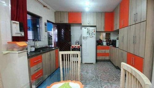 Sobrado Com 3 Dormitórios À Venda, 180 M² Por R$ 630.000,00 - Parque Oratório - Santo André/sp - So4042