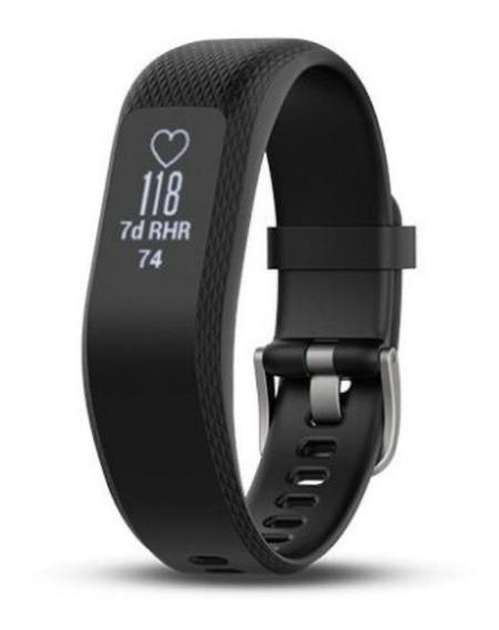 Relógio Garmin Vivosmart 3 - Azul Escuro Quase Preto