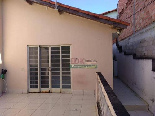 Casa Com 2 Dormitórios À Venda, 110 M² Por R$ 212.000,00 - Parque Interlagos - São José Dos Campos/sp - Ca1833