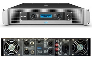 Amplificador Potencia Esound Vtx 1500 Pro 750w + 750w Cjf