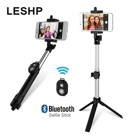 Selfie Stick Tripié Bluetooth
