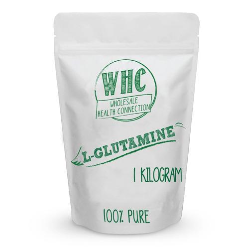 L-glutamina En Polvo 1 Kg (200 Porciones) | Estimula El Sist