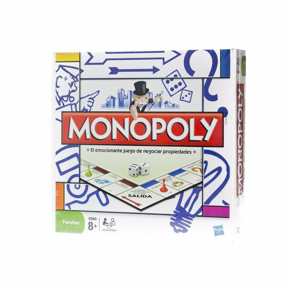 Monopoly Familiar Hasbro Original Full
