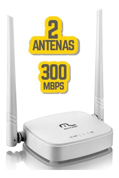 Roteador Multilaser 2 Antenas Re160 Promoção Roteador