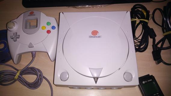 Dreamcast Console Excelente Estado + Game + Vmu