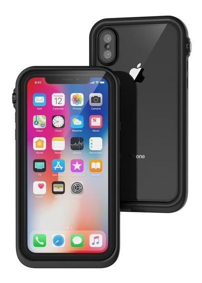 Protector Carcasa Waterproof iPhone Xr Catalyst Black