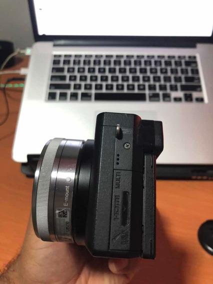 Sony A6300 + Lente 16mm 2.8 Sony