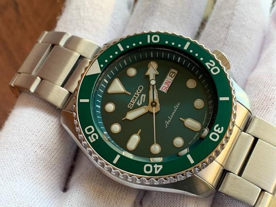 Relógio Seiko 5 Sports Automatic Green Srpd61