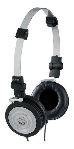 Fone De Ouvido Headphone Mini Dobrável Akg K-414p