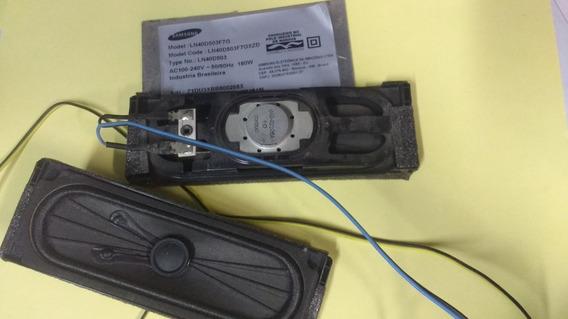 Alto Falantes Samsung Ln40d503f7g