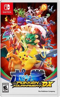 Pokkén Tournament Dx Juego Físico Nintendo Switch Original